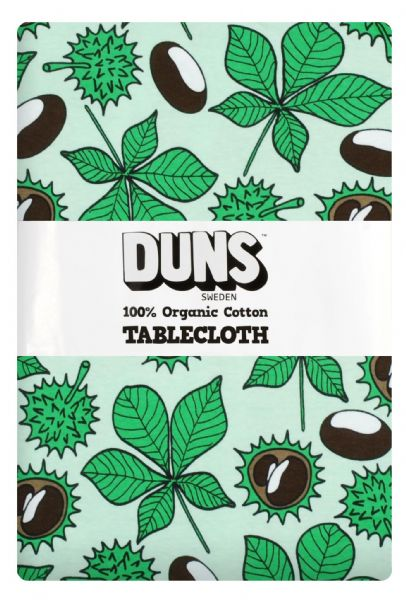 Duns Tablecloth Green Chestnut